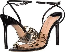 Leopard Vynalite/Black Patent
