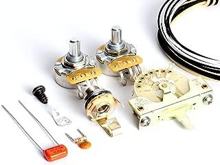 ToneShaper Guitar Wiring Kit, For Fender Telecaster, SS1 (Modern Wiring)