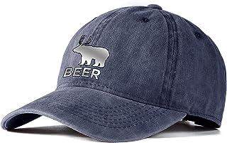 Vintage Baseball Cap, Washed Dad Hat, Chinese Drago Printing, Adjustable Cap for Men Women