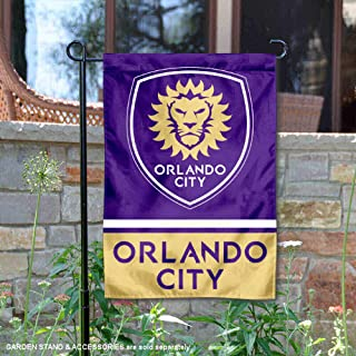 Wincraft Orlando City Soccer Club Double Sided Garden Flag
