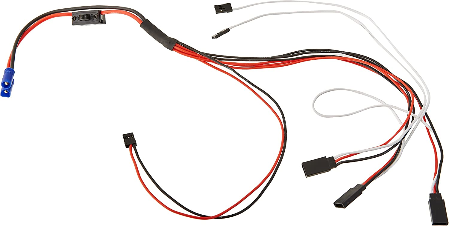 Losi LOS15000 on Off Swtich and Wiring Harness Mtxl RC Vehicle Parts