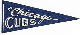 Vintage 1950's Era Chicago Cubs No Tassels Baseball Mini Pennant