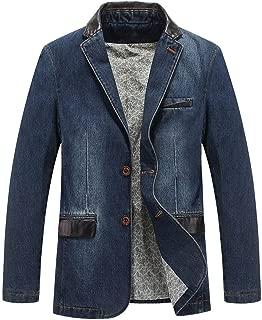 Casual Denim Jacket Men Cotton Coat Spring Suit Blazer Jean Jacket Men