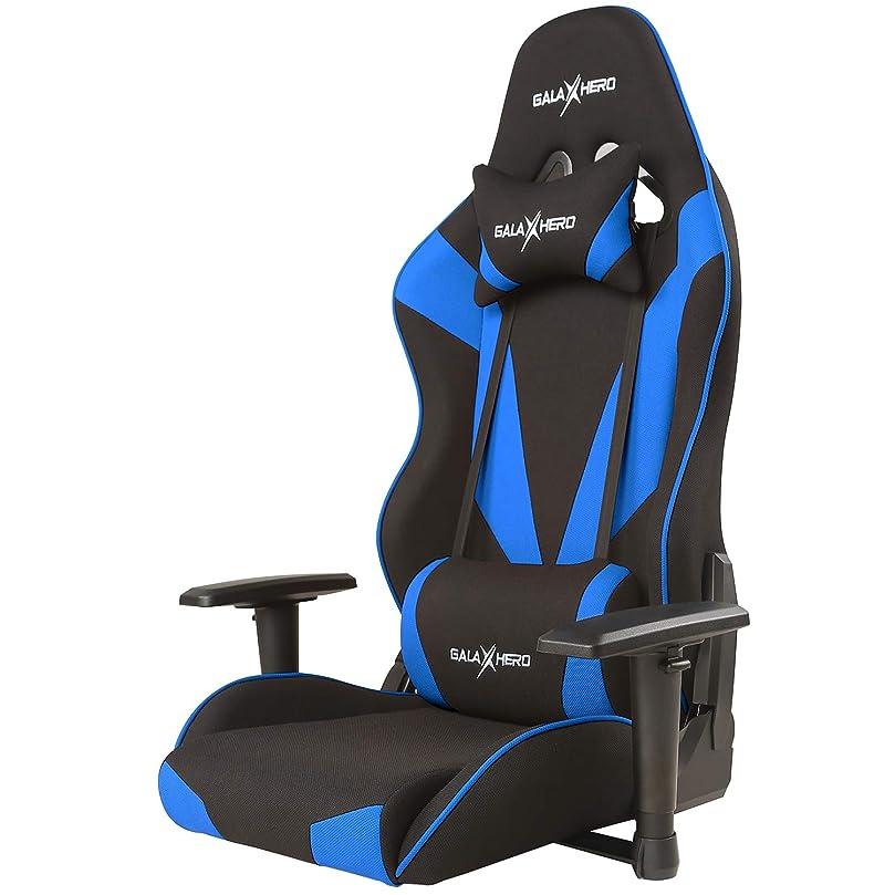 メッセンジャー配列起こりやすいゲーミングチェア ゲーミング座椅子 通気性抜群 オフィスチェア ゲーム用チェア パソコンチェア 多機能 360度回転 ハイバック リクライニング ヘッドレスト 腰にやさしいランバーサポート 2Dひじ掛け 布地 MF40B