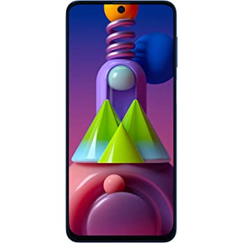 Samsung Galaxy M51 (Electric Blue, 6GB RAM, 128GB Storage) - Get Flat Rs 3,000 Instant Discount with select bank cards - Limited Period Offer