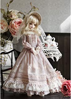 Original Design 1/4 BJD Doll 44cm 17.32Inch Princess Dolls Ball Joints SD Doll with Full Set Clothes Shoes Wig Makeup Acce...