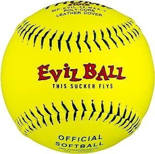 1 Dozen Evil Ball Trump MP-EVIL-44-MAX-Y 12 Inch 44 cor. 525+ comp Yellow Leather Cover
