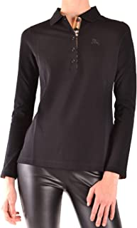 Luxury Fashion Womens MCBI38642 Black Polo Shirt | Season Outlet
