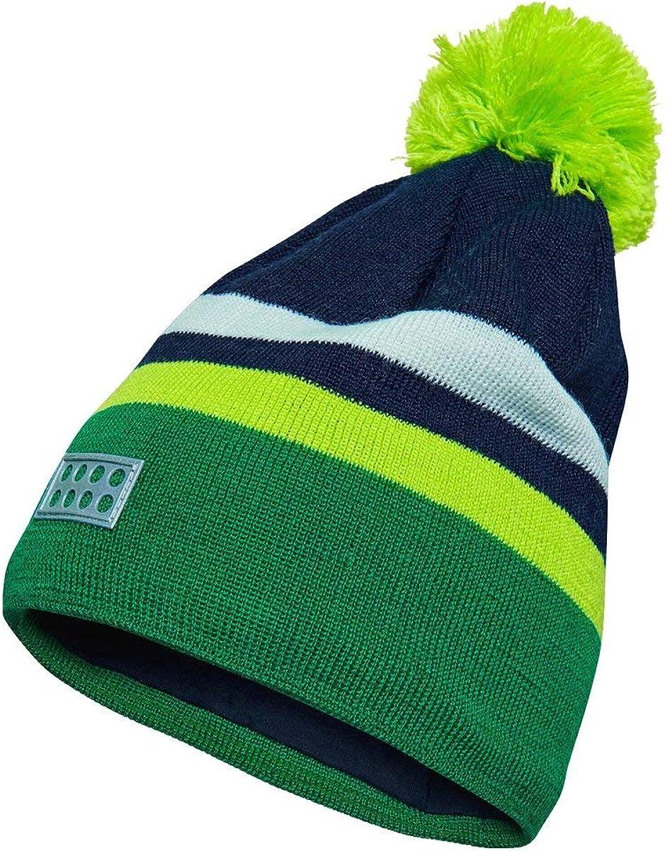 LEGO Wear Boys Knit Wool pom Hat with Reflective Detail