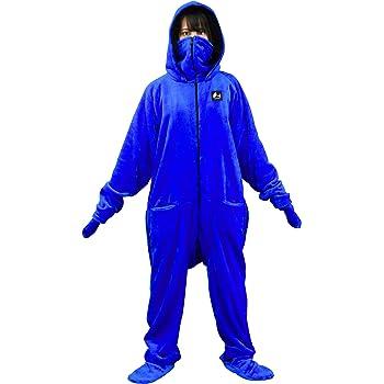 Bauhutte(バウヒュッテ) 着る毛布 ダメ着2020 ブルー Lサイズ HFD-BS-L-BU