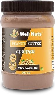Well Nuts Dark Chocolate Peanut Butter Powder 200 G