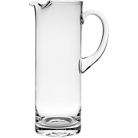 Badash Manhattan Crystal Glass Pitcher Set 54 Oz European Mouth Blown Crystal Martini Pitcher And Matching Stirring Rod Fine Quality Lead Free Crystal Decorative Pitchers Carafes Pitchers