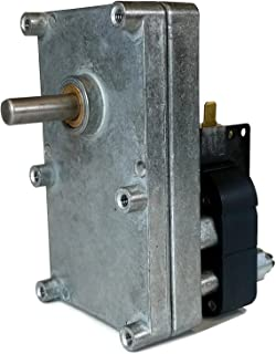Midwest Hearth Replacement Pellet Stove Auger Motor 1-RPM - Fits Multiple Stove Brands and Models
