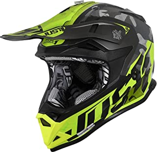 Just1 J32 Pro Swat Camo Motocross Helm Gelb/Grau M