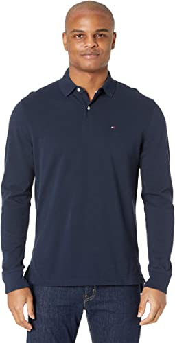 Long Sleeve Polo Shirt in Classic Fit