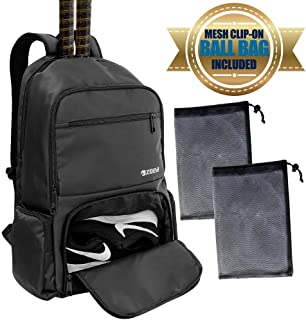 ZOEA Tennis Bag Tennis Backpack Pickleball Bag Tennis Bags for Men