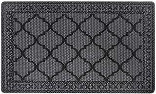 Carvapet Moroccan Trellis Non-Slip Doormat Durable Honeycomb Texture Kitchen Rug Runner Carpet, Indoor Outdoor, Easy Clea...