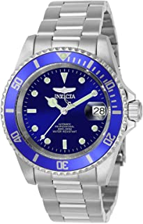 Invicta Unisex-Adult Automatic Watch, Analog Display and Stainless Steel Strap 9094OB