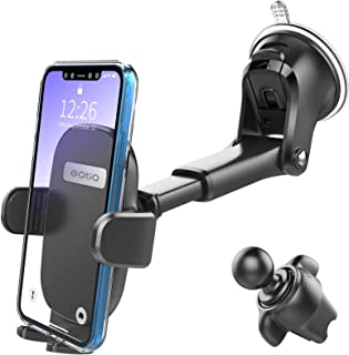3-in-1 Suction Cup Phone Holder Windshield/Dashboard/Air Vent, Oqtiq Dashboard & Windshield Suction Cup Car Phone Mount wi...
