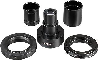 AmScope ca-can-nik-slr Canon y Nikon SLR/DSLR cámara adaptador para microscopios