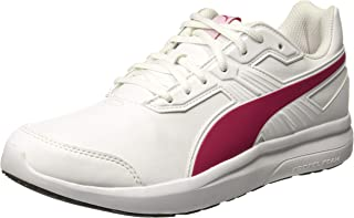 PUMA Women's Escaper Sl, White-Love Potion, Running Shoes