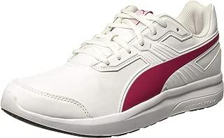 PUMA Women's Escaper Sl, White-Love Potion, Running Shoes