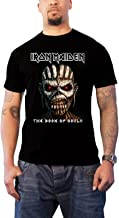 Iron Maiden T Shirt Book of Souls Band Logo Album Cover Official Mens Black
