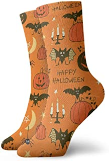 yting, Niños Niñas Locos Divertidos Patrones de fiesta de feliz Halloween Calcetines lindos del vestido de la novedad