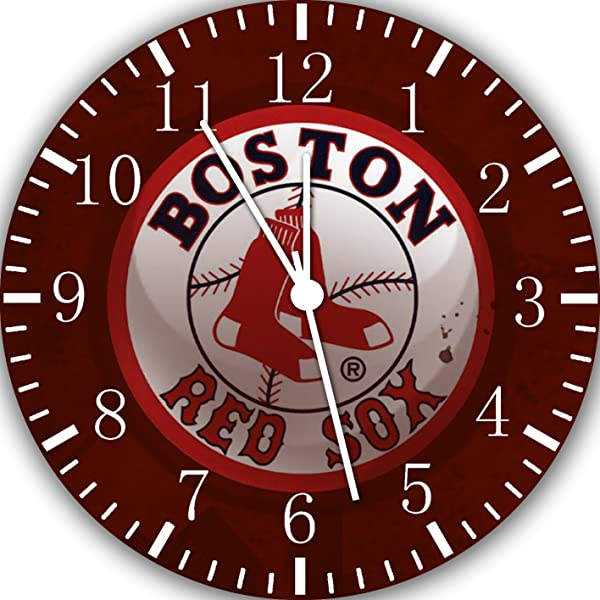 Red Sox Frameless Borderless Wall Clock F141 Nice For Gift Or Room Wall Decor