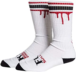 Sullen, x Bobber's N Chopper's Don't Die High Mens Socks White