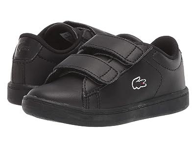 Lacoste Kids Carnaby Evo Bl 3 (Toddler/Little Kid) (Black/Black) Kid