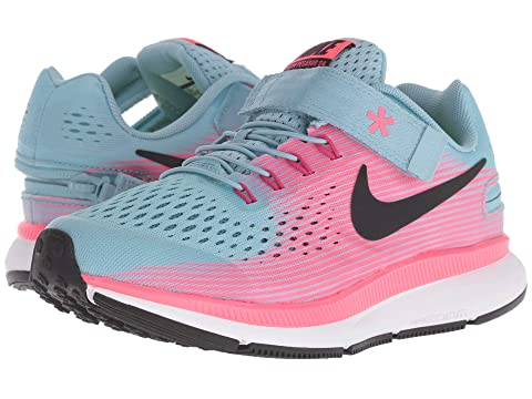 99d07e1a7cd2 Nike Kids Zoom Pegasus 34 FlyEase WIDE (Little Kid Big Kid) at ...