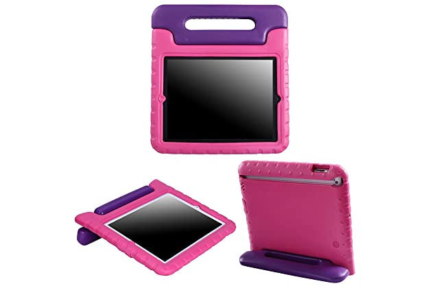 Tablet Accessories Aggressive New Shockproof Kids Child Handle Foam Case Cover Stand For Apple For Ipad 2 3 4