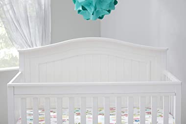 Fisher-Price Geary 4-in-1 Convertible Crib, Frost White