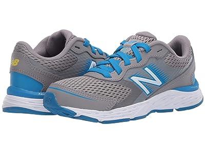 New Balance Kids 680v6 (Little Kid/Big Kid) (Marblehead/Vision Blue) Boys Shoes
