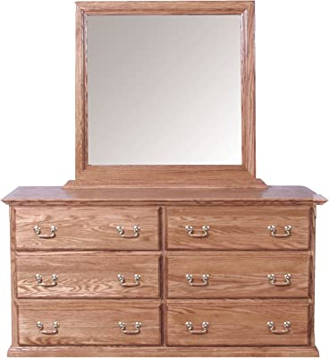 Forest Designs HFF- Dresser See Dimensions Gray Oak