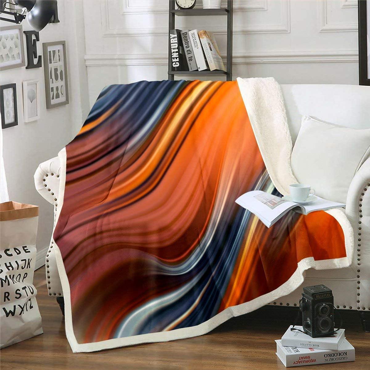 Erosebridal Popular product Marble Plush Bed Spasm price Throw Blanket Pattern Wave