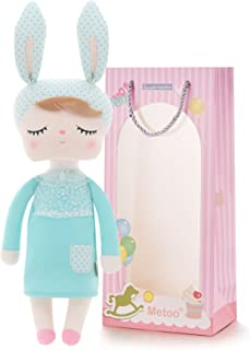 Me Too Gifts Baby Doll Girl Gifts Stuffed Bunny Super Soft Plush Rabbit Toys 12