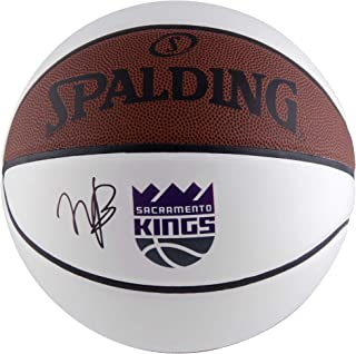 Marvin Bagley III Sacramento Kings Autographed Logo White Panel Basketball - Fanatics Authentic Certified