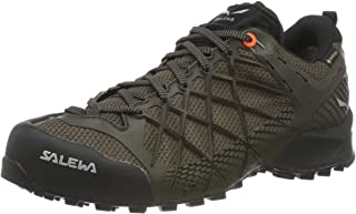 Salewa Men's MS Wildfire GTX Trekking & Hiking Shoes, without Gore Tex, Green (Cactus / Black Out 5319), 45 EU