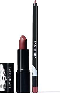 FIND - Flawless Elegance (Barra de labios brillante n.4 + Perfilador de labios n.7)