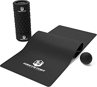 featured product GoGetAfterIt Foam Roller for Physical Therapy & Exercise with Yoga Mat & Lacrosse Ball-Muscle Relaxing Massage Roller with 5 Speed High Intensity Vibration-Trigger Point Massager for Sore Muscles