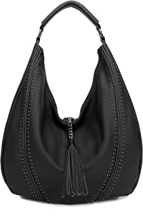 Handbags for Women, Hobo Shoulder Bags Large Compacity Tote Purses With Tassel Decoration