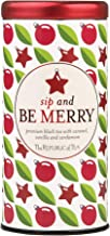 The Republic of Tea Sip And Be Merry Holiday Gift Tea Bags, 50 Tea Bag Tin