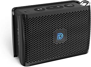 DOSS Genie Portable Bluetooth Speaker with Clean Sound, 33ft Bluetooth Range, Built-in Mic, Ultra-Portable Design, Wireless Speaker Compatible for Home, Outdoors, Travel - Black