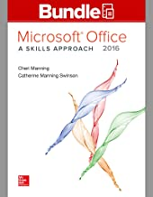 Microsoft 2016 Skills Approach + Simnet Office 2016 Manning Smbk Access Code