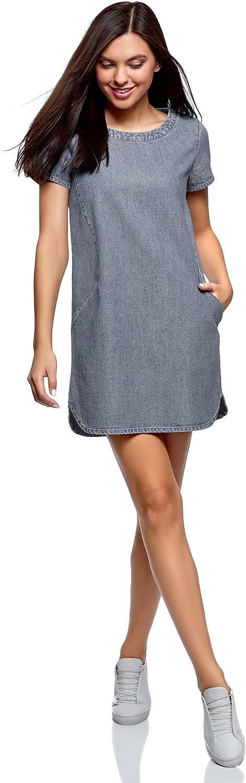 Oodji Ultra Women's Straight Denim Dress