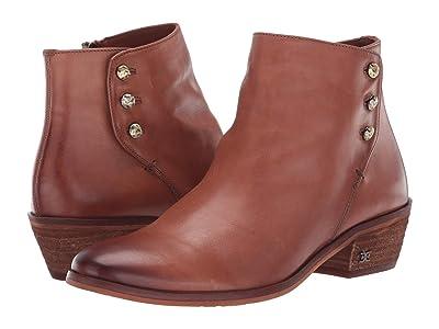 Sam Edelman Paila (Cognac Veg Calf Leather) Women