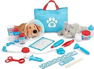 Melissa and Doug Examine & Treat Pet Vet Play Set