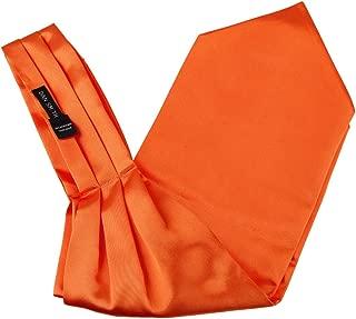 orange cravat wedding